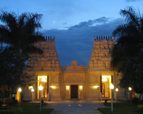 Shiva-Vishnu temple in South Florida