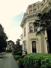 Mills Hall and the Campanile, Mills College. (Melinda Stuart) Tags: ca oakland victorian architecture campus college women education school learning