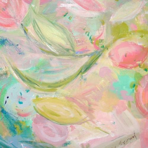 progressive painting, small portion