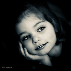 ***My Girl*** (Rebecca812) Tags: portrait blackandwhite 3 girl beautiful closeup canon vintage children eyes bravo soft pretty child hand eyelashes sister daughter twin naturallight monotone retro m lowkey cradle platinumheartaward coffeeshopactions artofimages canon5dmarkii bestportraitsaoi elitechildimages elitegalleryaoi familygetty2010