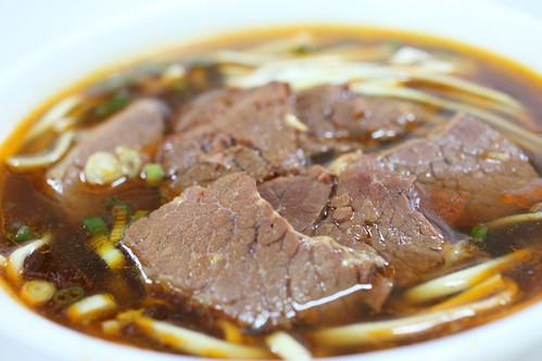 Beef Noodle Soup 牛肉麵