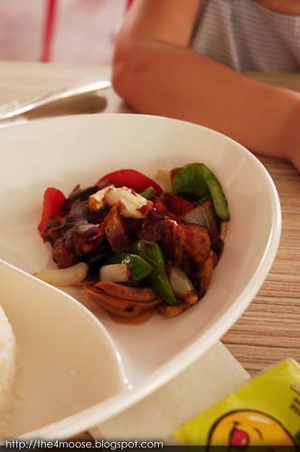 Mushroom Café - Teriyaki Chicken