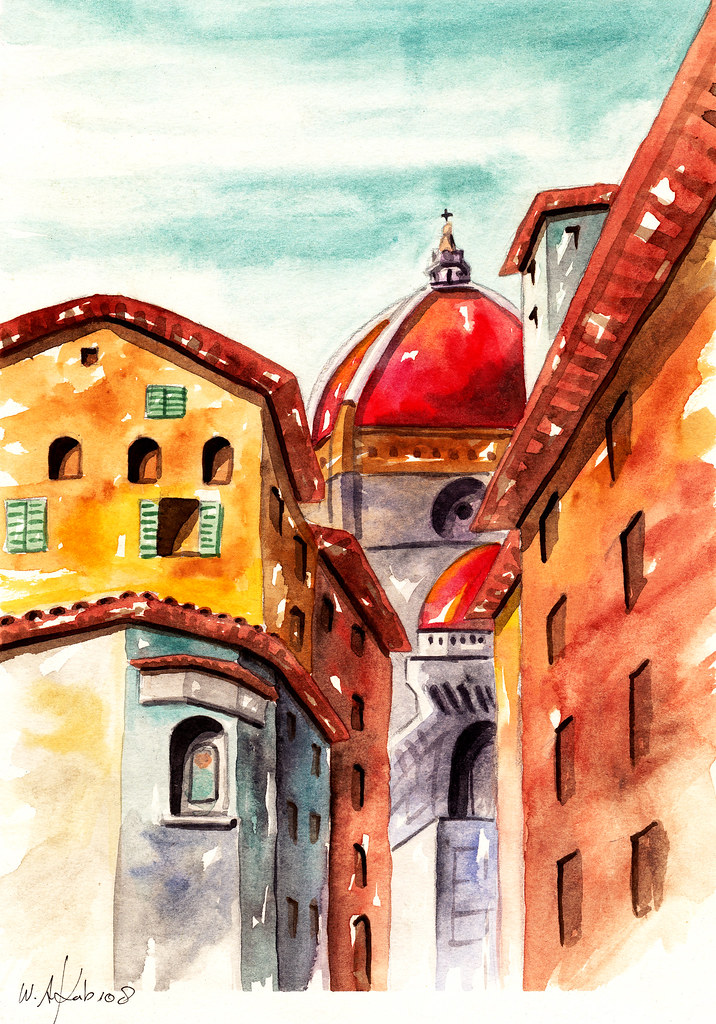 The World S Best Photos Of Duomo And Watercolor Flickr