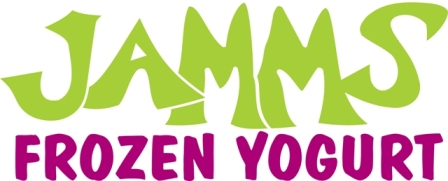 Jamms Frozen Yogurt Logo