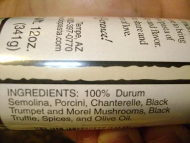 DeCio wild mushroom pasta