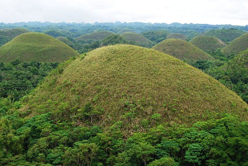 Chocolate Hills of Bohol Philippines - World Natural Heritage