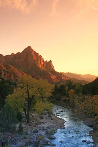 Sunset, Zion's National Park