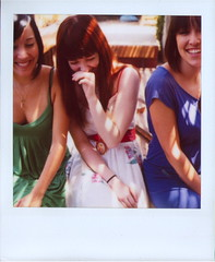 Bustin' Up (Lou O' Bedlam) Tags: polaroid losangeles photoshoot gorgeous marcy barbara natasha polaroid680 louobedlam 61607 lounoble louobedlamcom