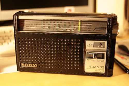 راديو سوني قديم