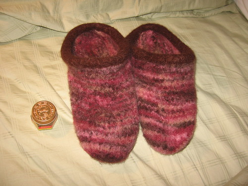finished clogs
