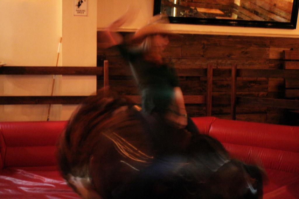 Blur riding