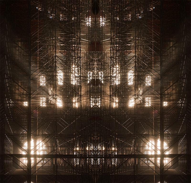 Light paths in vespers symmetry