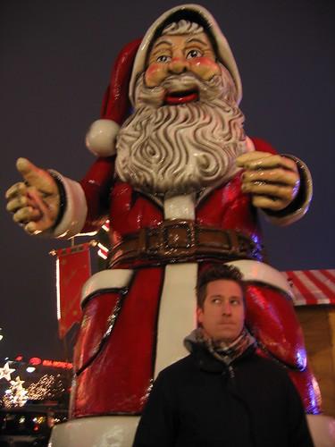 Brad and Weihnachts Mann