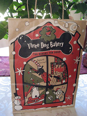 three dog bakery bag