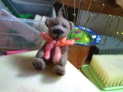 Felting Teddy