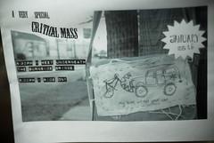 January Critical Mass flyer