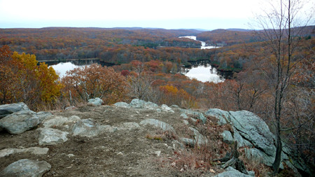 Lakes Skannatati, Kanawaukee and Sebago - Harriman State Park, NY - Picture 031sm