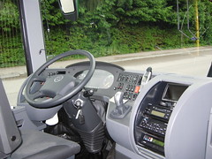 Cockpit of a Setra S431 DT (Reto Kurmann) Tags: bus motorcoach setra s431dt buchertravel bucherreisen