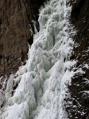 The Crucible - Graham P1 (Dru!) Tags: winter canada ice climb waterfall big bc britishcolumbia grow spray climbing climber rime graham rare iceclimbing lytton iceclimber thompsonriver thecrucible icefeathers thompsonrivercanyon nicomenriver nicoamenbandreserve