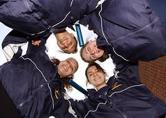 Pine Bush HS Girl's 1600 Meter Relay Team.  January 24, 2008.
