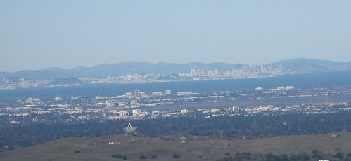 San Francisco in the far distance