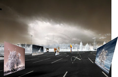 parking lot of ideas (zachstern) Tags: wallpaper sky cloud eye canon landscape ir parkinglot parking perspective lot images infrared ideas spaces infravermelho infrarot  ircamera infrarrojos   infrapuna infrarood infrarouge infrarossi  s30ir  inframerah   lotofideas infravrs infraerven