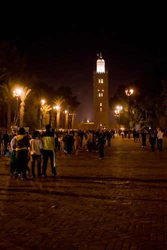 Koutoubia by Night