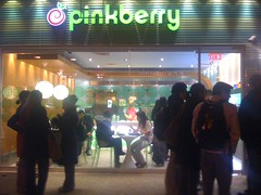 Pinkberry Crowds