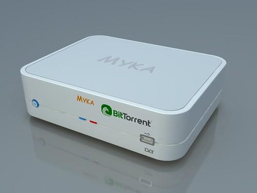 Myka + BitTorrent = TorrentTV