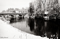 Winter's Last Gasp? (Phillip Chitwood) Tags: winter snow river spring nikon vermont nikkor proctor d300 otterriver impressedbeauty