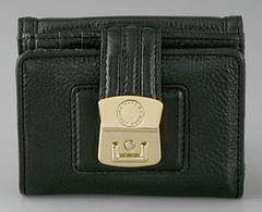 airliner wallet in black