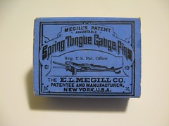 Megill Spring Tongue Gauge Pins