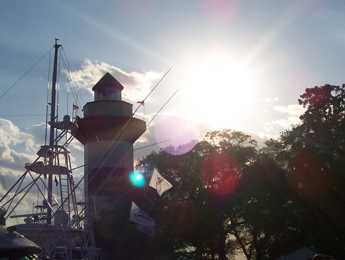 Harbourtown Light and Sun