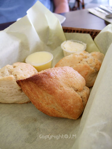 Cream Scone Basket