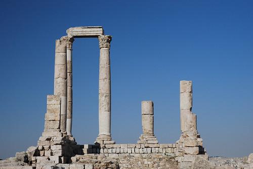 Amman - Pillars of the Temple of Hercules
