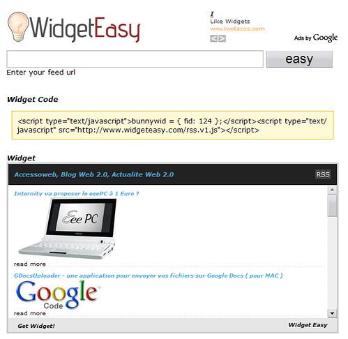WidgetEasy