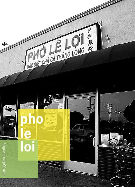 Pho Le Loi San Gabriel