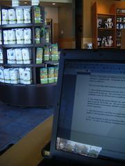 Doing Work at Starbucks
