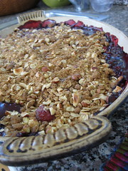 Three-Berry Crisp