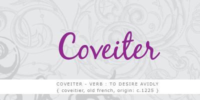 coveiter