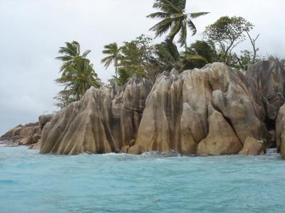 St.Pierre Islet near Praslin (Seychelles)
