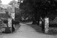 The entrance (POStaes) Tags: nikon f ftn photomic kentmere k400 analog film nikkor bw blackandwhite classiccamera