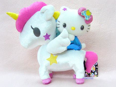 Tokidoki x Hello Kitty Series 4 - Unicorn Plush