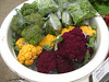 Purple and Gold Cauliflower