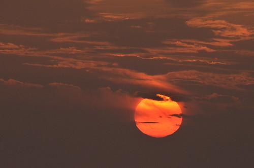 フリー写真素材, 自然・風景, 空, 雲, 夕日・夕焼け・日没,