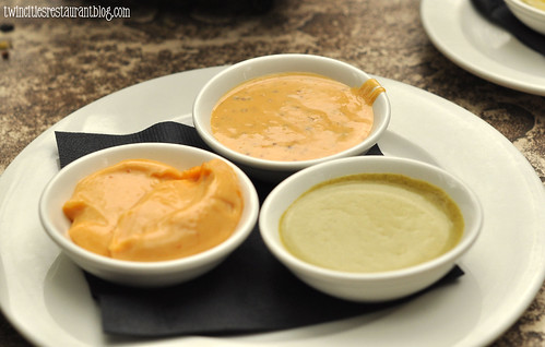 Trip of Dipping Sauces at WA Frost & Co ~ St Paul, MN