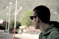 Jacopo (LaKry*) Tags: boy portrait guy look sunglasses bokeh sguardo jacopo ritratto arcadia ragazzo schio occhialidasole centrosociale spazioautogestito csaarcadia