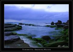 Turimetta - Smoking Water (marc.alexander) Tags: longexposure storm beach clouds sunrise canon rocks framed sydney canonef2470mmf28lusm canon2470mml turimetta marcalexander canon40d