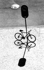 Two Bicycles ( ) Tags: street shadow bike bicycle bicicleta sombra diamondclassphotographer