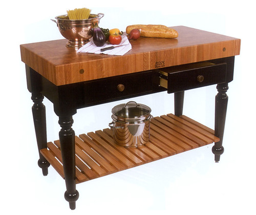 Rouoge et Noir Rustica Butcher Table